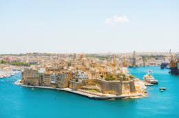 Malta, panoramica dall'alto