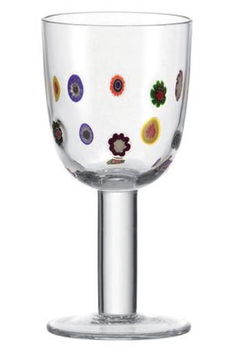 Bicchiere da vino Millefiori
