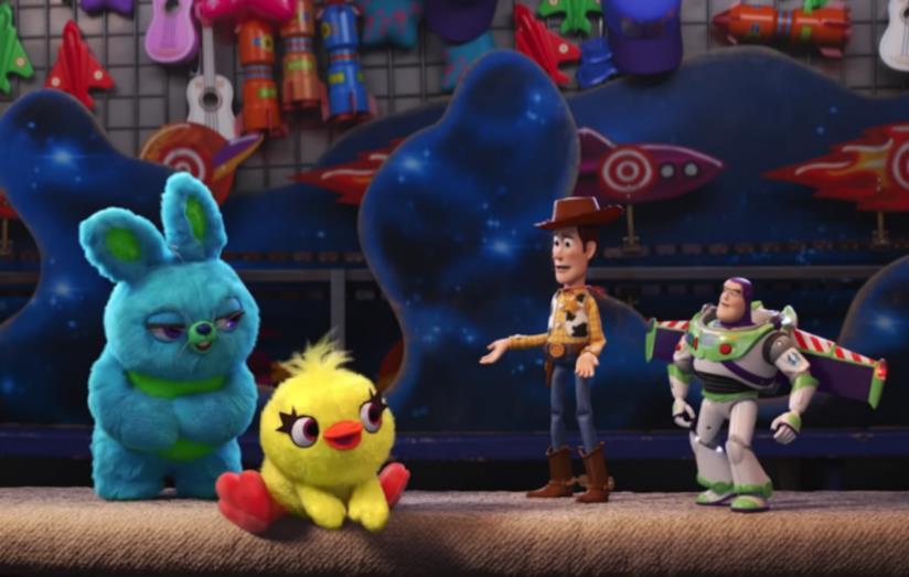 Personaggi vecchi e nuovi di Toy Story