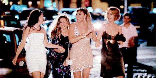 Charlotte, Carrie, Samantha e Miranda di Sex and the City