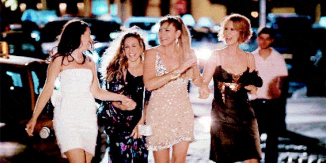 Charlotte York, Carrie Bradshaw, Samantha Jones e Miranda Hobbes