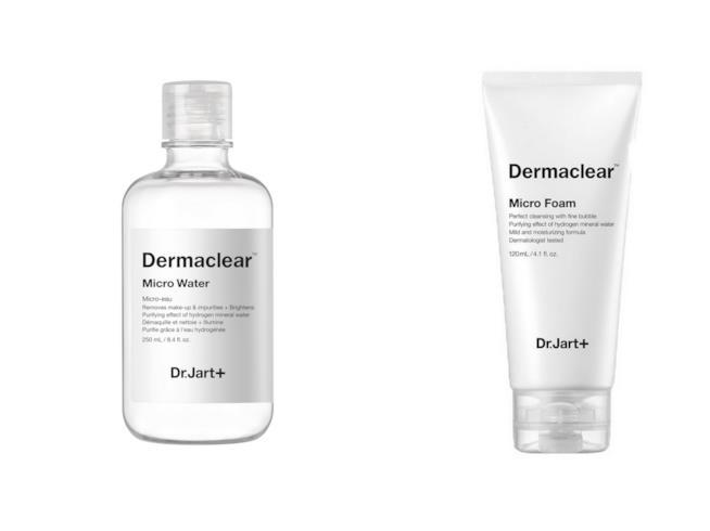 I prodotti per la detersione Dermaclear di Dr.Jart+