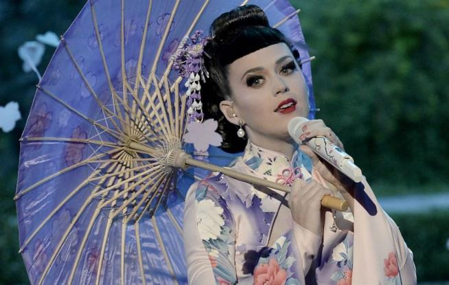 Katy Perry in kimono