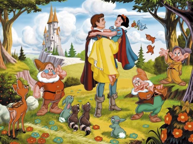 Il poster di Biancaneve e i Sette Nani