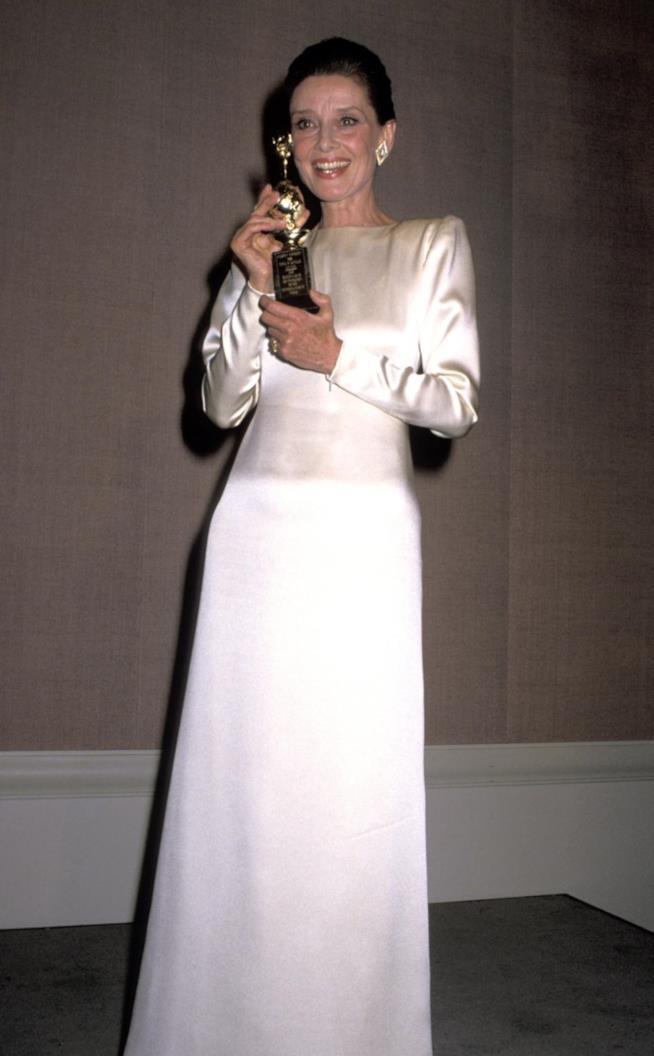 Audrey Hepburn ai Golden Globes 1990