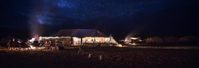 Deserto Tunisia: San Valentino a guardare il cielo stellato