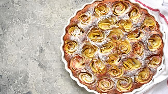 Torta delle rose per la festa della mamma