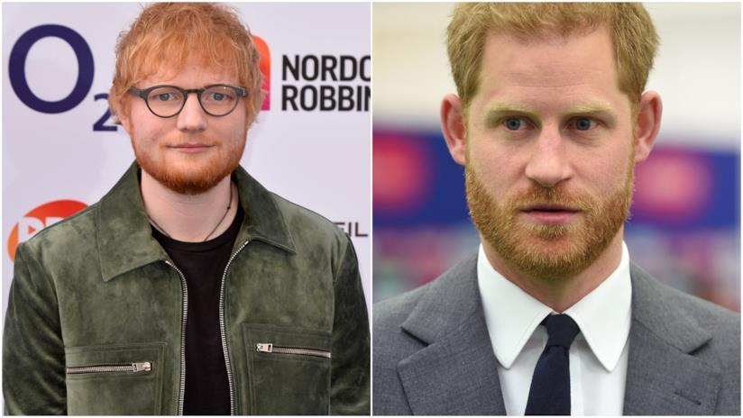 Ed Sheeran e il Principe Harry