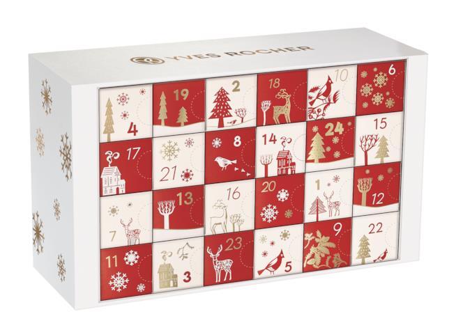 confezione del Calendario dell'avvento Yves Rocher