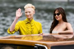 Tilda Swinton e Dakota Johnson