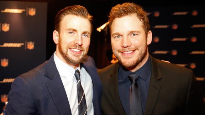 Chris Evans e Chris Pratt, che feeling!