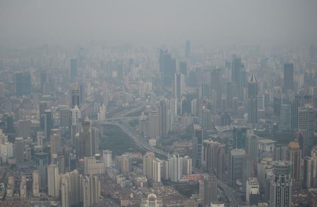 Una panoramica di Shangai