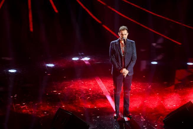 L'esibizione di Renzo Rubino a Sanremo 2018