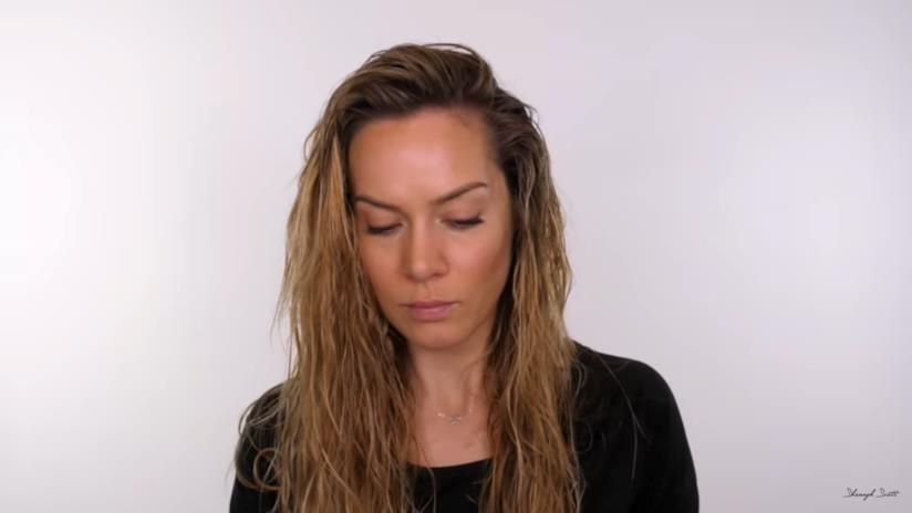 capelli dopo shampoo e balsamo