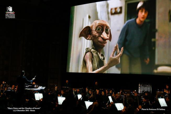 Orchestra Italiana del Cinema esegue musica dal vivo