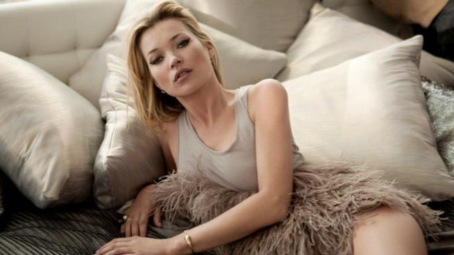 Kate Moss volto di Alexaner Mcqueen