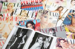 Copertine di magazine da donna