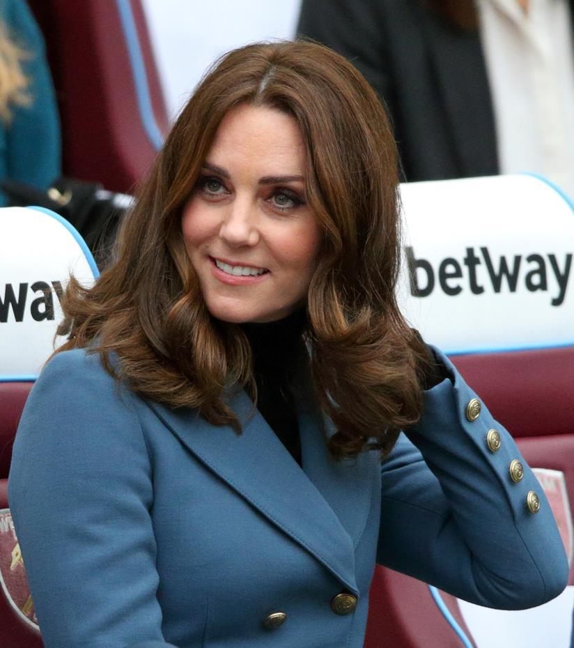 Taglio Kate Middleton con punte mosse