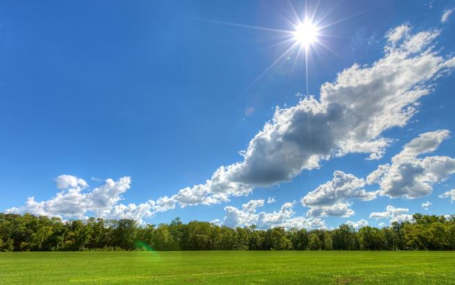 Giornata soleggiata