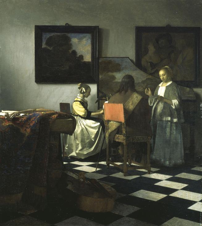 Concerto a tre di Vermeer