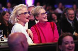 Meryl Streep con la figlia Mamie Gummer