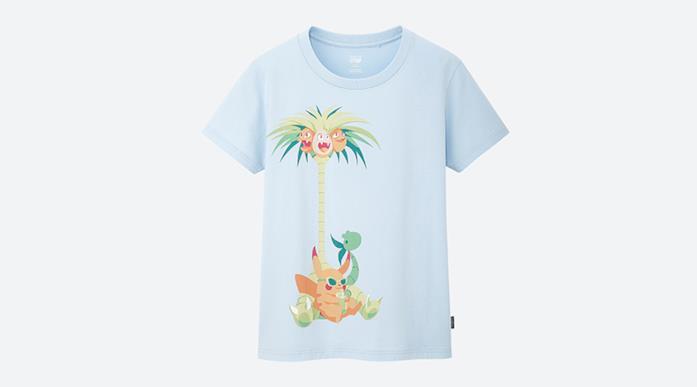 "T-shirt a tema pokemon""Pikachill"""