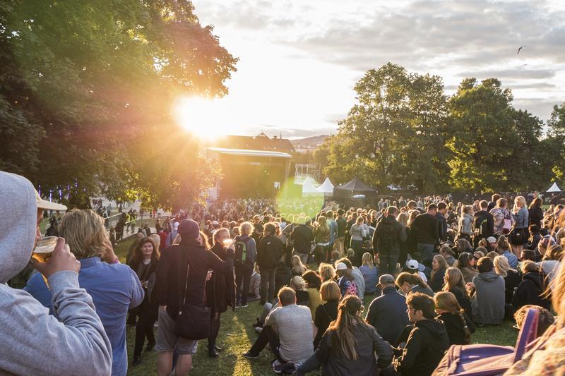 Il pubblico all'Øya Festival