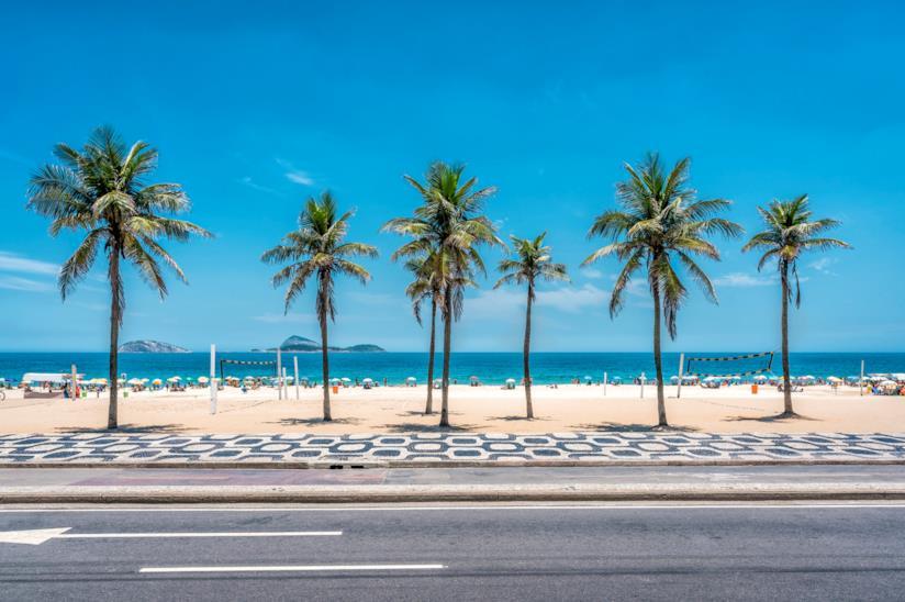 La spiaggia di Ipanema