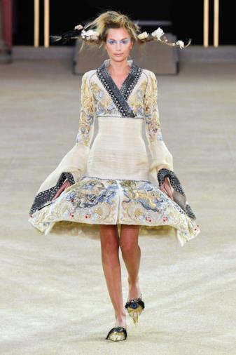 Sfilata GUO PEI Collezione Alta moda Autunno Inverno 19/20 Parigi - CSC_6550