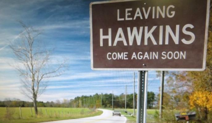 Cartello di Hawkins