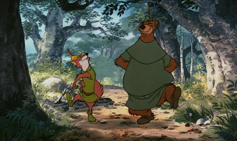 Robin Hood e Little John