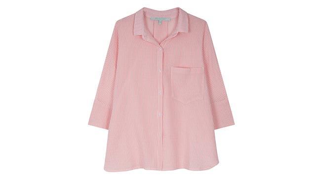 Per La Fée Maraboutée camicia pigiama stye in rosa