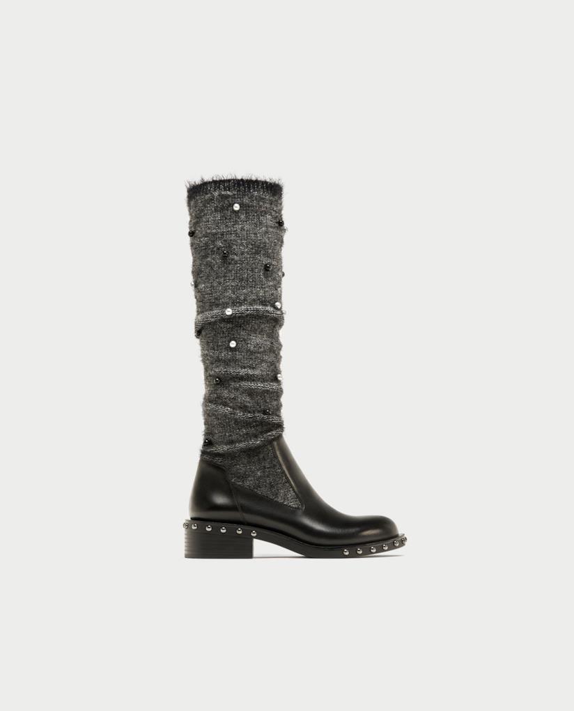 Stivali calzino di Zara per Natale