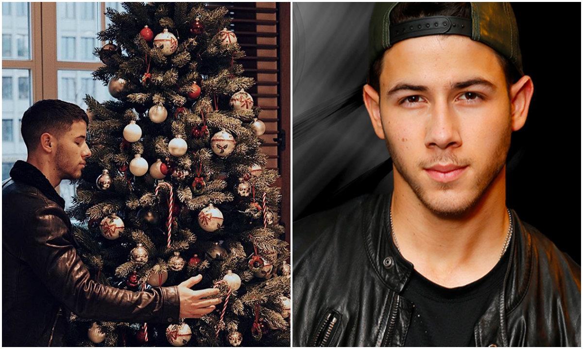 L'albero di Natale di Nick Jonas