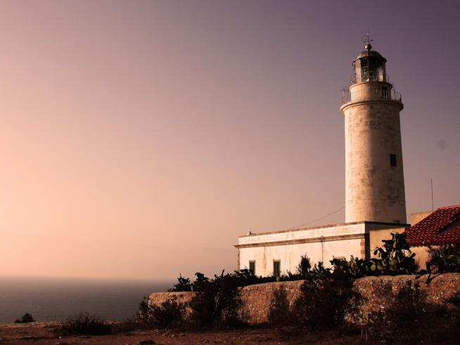 Romantico faro a Formentera