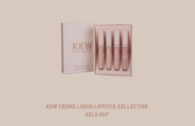 I rossetti liquidi di Kim Kardashian, ormai esauriti