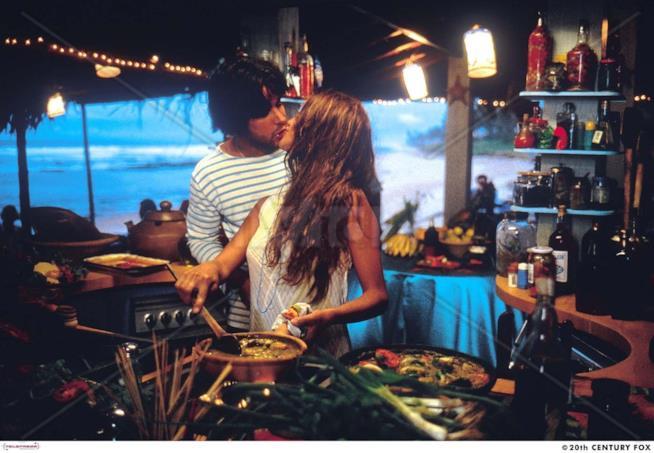 Una scena del film romantico di Fina Torres del 2000