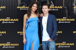Tom Holland con Zendaya