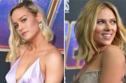 Brie Larson e Scarlett Johansson