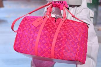 Borsa rosa fluo Louis Vuitton Parigi FW2019