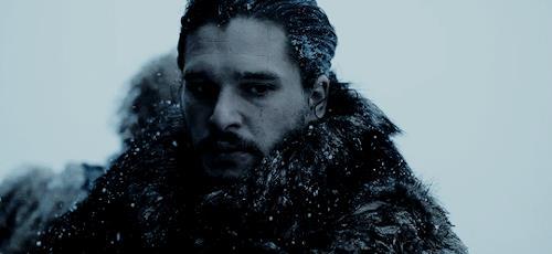 Jon nella neve