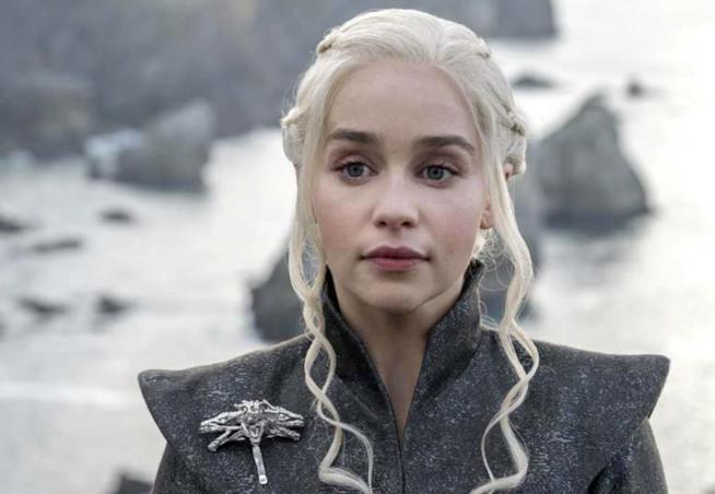 Daenerys in una ritratto dalla serie Game of Thrones
