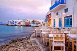 Villaggio di Chora a Mykonos