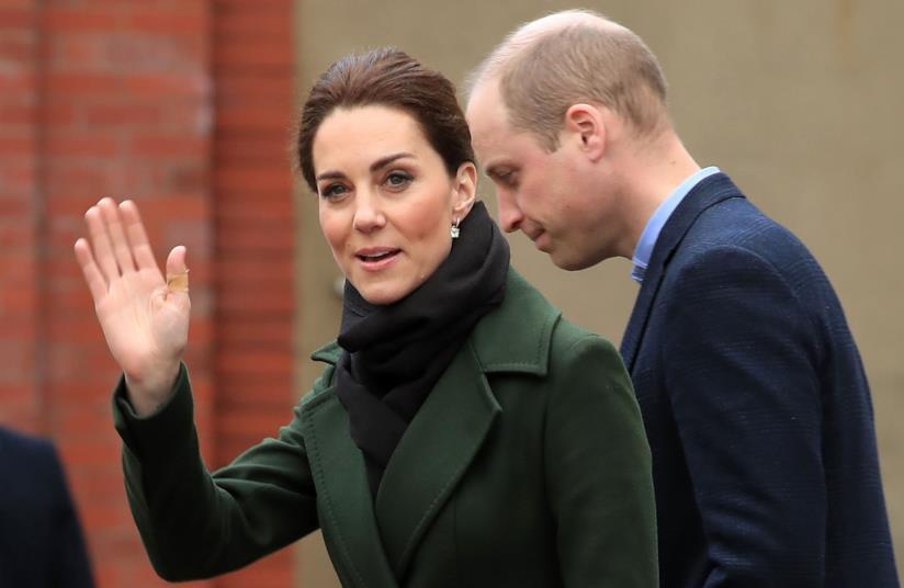 Kate Middleton e William d'Inghilterra in primo piano