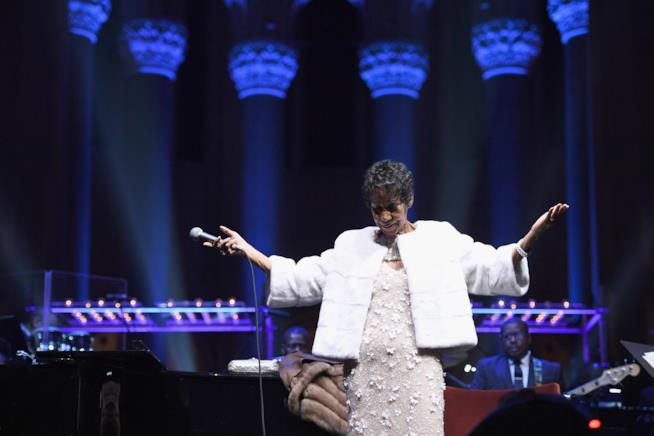 Aretha Franklin - Fondazione Elton John