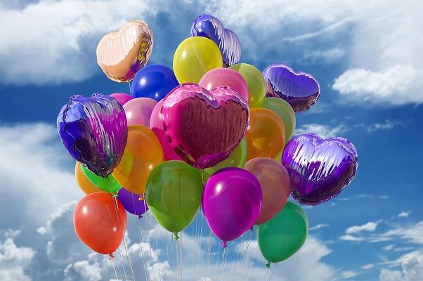 Palloncini colorati per Pasqua