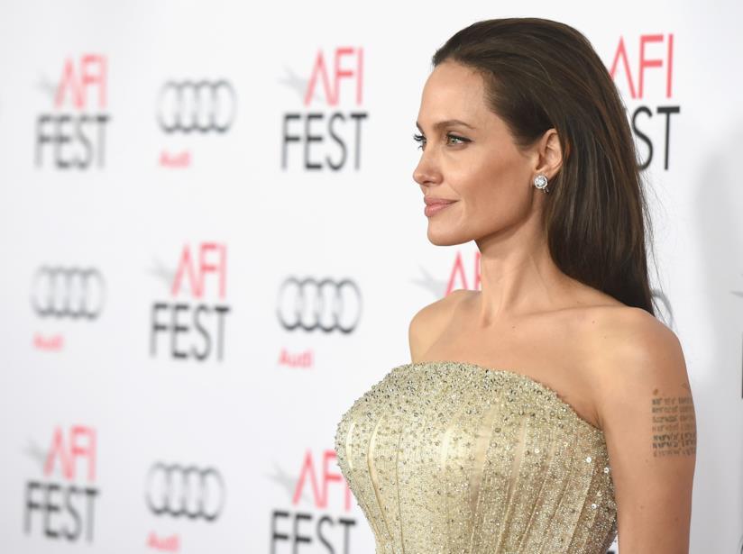 Una splendida Angelina Jolie