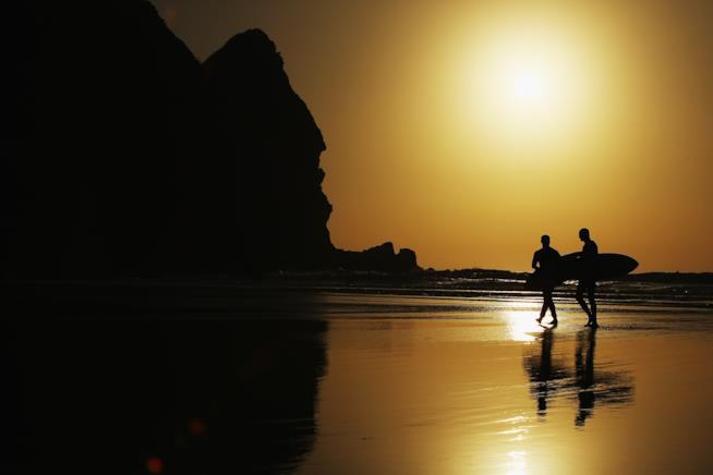 Piha Beach in Nuova Zelanda