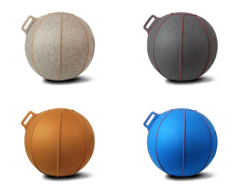 VLUV STOV - Fitball in tessuto, 65 cm