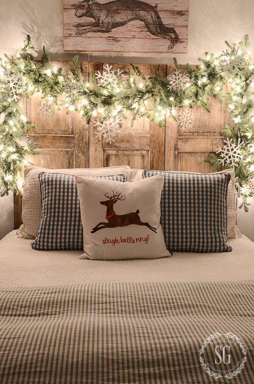 Camera da letto di Natale